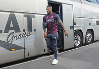 Luciano Narsingh of Swansea City arrives at Huish Park prior to kick off of the Pre-Season Friendly between Yeovil and Swansea City at Huish Park, Yeovil, England, UK. Tuesday 10 July 2018