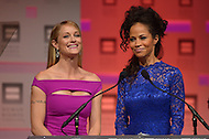 October 5, 2013  (Washington, DC)  Actresses Teri Polo (l) and Sherri Saum from the television show 'The Fosters' appear at the Human Rights Campaign (HRC) 2013 National Dinner.  (Photo by Don Baxter/Media Images International)