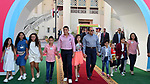 Egyptian President Abdel Fattah al-Sisi celebrates with the families of martyrs on the first day of Eid al-Fitr holiday which marks the end of the Muslim holy month of Ramadan, in Cairo, Egypt, on June 15, 2018. Eid al-Fitr marks the end of Muslim's holy fasting month of Ramadan when faithfuls abstain from eating, drinking, smoking and sexual activities from dawn to dusk. Photo by Egyptian President Office