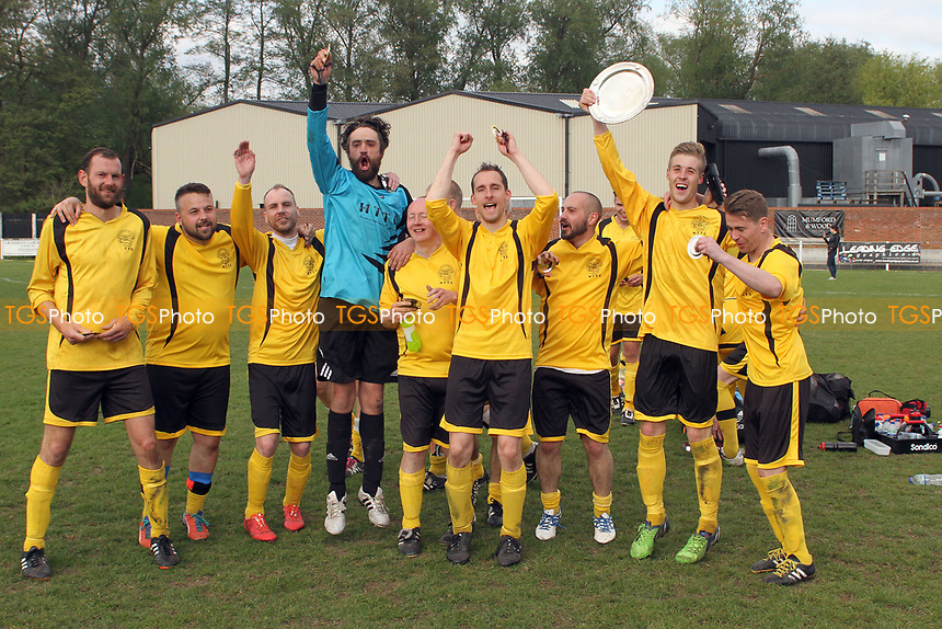 during Great Bradfords Reserves vs Tolleshunt Knights Eagles, Braintree & North Essex Sunday League Cup Final Football at Rosemary Lane on 7th May 2017 Great Bradfords Reserves vs Tolleshunt Knights Eagles, Braintree & North Essex Sunday League Cup Final Football at Rosemary Lane on 7th May 2017