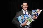 Dave Lesh, founder, Dale Dental and creator, Picture Your Life with his books from the Book People at the Eleventh Annual Texas Conference for Women