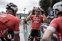 Jasper Stuyven (BEL/Trek Segafredo) after finishing 3th<br /> <br /> 103th Kampioenschap van Vlaanderen 2018 (UCI 1.1)<br /> Koolskamp – Koolskamp (186km)