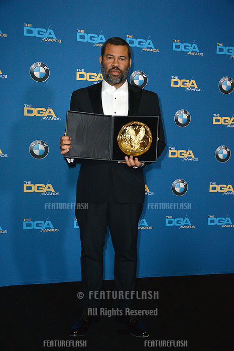 Jordan Peele at the 70th Annual Directors Guild Awards at the Beverly Hilton Hotel, Beverly Hills, USA 03 Feb. 2018<br /> Picture: Paul Smith/Featureflash/SilverHub 0208 004 5359 sales@silverhubmedia.com