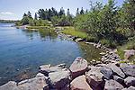 Rocky Shoreline along the Baltic Coast on the Island of Kökar in Åland