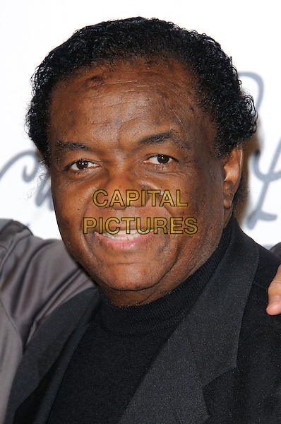 LAMONT DOZIER.Press conference announce details of Cliff Richard's new album at Gilgamesh, London, England..March 7th, 2011.headshot portrait black.CAP/CJ.©Chris Joseph/Capital Pictures.