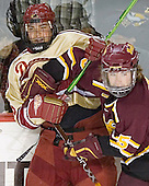 Mike Handza, Matt Verdone - The Ferris State Bulldogs defeated the University of Denver Pioneers 3-2 in the Denver Cup consolation game on Saturday, December 31, 2005, at Magness Arena in Denver, Colorado.