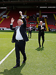 Chris Wilder new manager of Sheffield Utd and Alan Knill assistant manager is introduced to the crowd during the PDL U21 Final at Bramall Lane Sheffield. Photo credit should read: Simon Bellis/Sportimage
