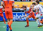Den Bosch  -   Bob de Voogd (Ned)   tijdens   de Pro League hockeywedstrijd heren, Nederland-Belgie (4-3).     COPYRIGHT KOEN SUYK