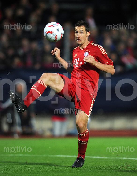 Fussball 1. Bundesliga :  Saison   2011/2012   Freundschaftsspiel  16.05.2011 FC Bayern Muenchen - Paulaner Auswahlteam Miroslav Klose (FC Bayern Muenchen)