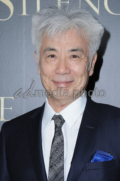 """05 January 2017 - West Hollywood, California - Issey Ogata. """"Silence"""" Los Angeles Premiere held at the Directors Guild of America. Photo Credit: Birdie Thompson/AdMedia"""
