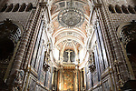 Interior of the Se Cathedral, Evora, Portugal