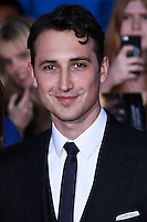 """WESTWOOD, LOS ANGELES, CA, USA - MARCH 18: Ben Lloyd-Hughes at the World Premiere Of Summit Entertainment's """"Divergent"""" held at the Regency Bruin Theatre on March 18, 2014 in Westwood, Los Angeles, California, United States. (Photo by David Acosta/Celebrity Monitor)"""