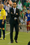Huelva's coacher <br /> ose Luis Oltra during the match between Real Betis and Recreativo de Huelva day 10 of the spanish Adelante League 2014-2015 014-2015 played at the Benito Villamarin stadium of Seville. (PHOTO: CARLOS BOUZA / BOUZA PRESS / ALTER PHOTOS)