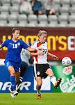 Bianca Schmidt, Carolina Pini, QF, Germany-Italy, Women's EURO 2009 in Finland, 09042009, Lahti Stadium.