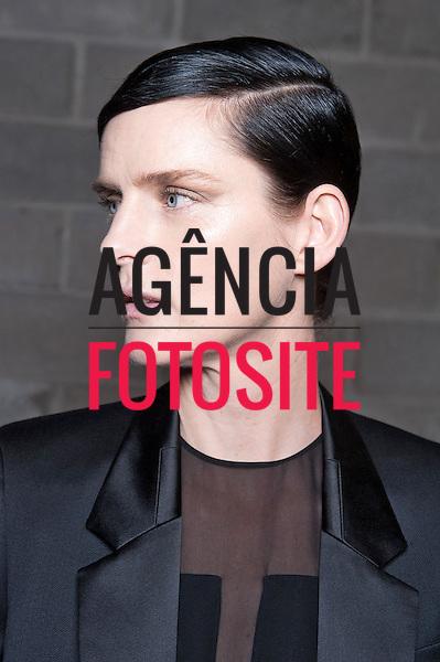 Nova Iorque, EUA &ndash; 02/2014 - Desfile de Hugo Boss durante a Semana de moda de Nova Iorque - Inverno 2014. <br /> Foto: FOTOSITE