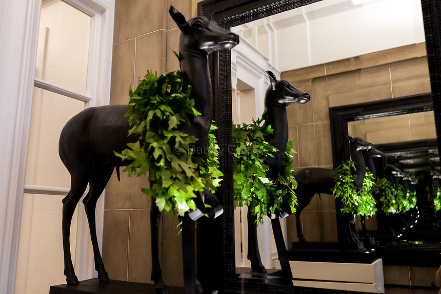 Design by Powell &amp; Bonnell at The 45th Kips Bay Decorator Show House, at 125 East 65th St. <br /> <br /> Danny Ghitis for The New York Times