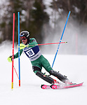 FRANCONIA, NH - MARCH 10: Karl Kuus of Plymouth State participates in the men's slalom at the Division I Men's and Women's NCAA Skiing Championships held at Jackson Ski Touring on March 10, 2017 in Jackson, New Hampshire. (Photo by Gil Talbot/NCAA Photos via Getty Images)