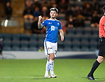 Dundee v St Johnstone&hellip;29.12.18&hellip;   Dens Park    SPFL<br />Matty Kennedy salutes the saints fans as he is subbed<br />Picture by Graeme Hart. <br />Copyright Perthshire Picture Agency<br />Tel: 01738 623350  Mobile: 07990 594431