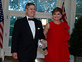 Maria Bartiromo and Jonathan Steinberg arrive for the State Dinner hosted by United States President Donald J. Trump and First lady Melania Trump in honor of Prime Minister Scott Morrison of Australia and his wife, Jenny Morrison, at the White House in Washington, DC on Friday, September 20, 2019.<br /> Credit: Ron Sachs / Pool via CNP