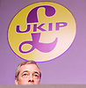 UKIP 2015 Spring Conference at the Winter Gardens Margate, Great Britain <br /> 28th February 2015 <br /> <br /> Nigel Farage MEP<br /> Leader of UKIP<br /> <br /> <br /> <br /> <br /> Photograph by Elliott Franks <br /> Image licensed to Elliott Franks Photography Services
