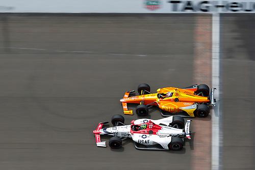 Conor Daly, Dale Coyne Racing dba Thom Burns Racing Honda, Zach Veach, Andretti Autosport Honda