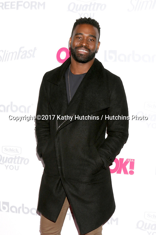 LOS ANGELES - MAY 17:  Keo Motsepe at the OK! Magazine Summer Kick-Off Party at the W Hollywood Hotel on May 17, 2017 in Los Angeles, CA
