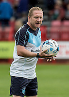 Richard Dobson Assistant Manager of Wycombe Wanderers during the Sky Bet League 2 match between Crawley Town and Wycombe Wanderers at Checkatrade.com Stadium, Crawley, England on 29 August 2015. Photo by Liam McAvoy.