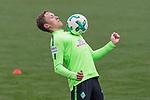 12.01.2018, Trainingsgelaende, Bremen, GER, 1.FBL, Training SV Werder Bremen<br /> <br /> im Bild<br /> Ludwig Augustinsson (Werder Bremen #5), <br /> <br /> Foto &copy; nordphoto / Ewert