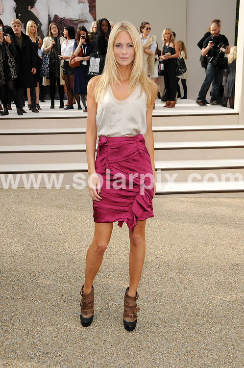 **ALL ROUND PICTURES FROM SOLARPIX.COM**                                             **WORLDWIDE SYNDICATION RIGHTS**                                                                                  Caption: The Burberry 2011 catwalk show as part of London Fashion Week at Chelsea College of Art and Design, London, UK. 21 September 2010                                                                              This pic: Poppy Delevigne                                                                                JOB REF: 12162 MSR       DATE: 21_09_2010                                                           **MUST CREDIT SOLARPIX.COM OR DOUBLE FEE WILL BE CHARGED**                                                                      **MUST AGREE FEE BEFORE ONLINE USAGE**                               **CALL US ON: +34 952 811 768 or LOW RATE FROM UK 0844 617 7637**