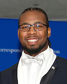 Newly signed Washington Redskins cornerback Josh Norman arrives for the 2016 White House Correspondents Association Annual Dinner at the Washington Hilton Hotel on Saturday, April 30, 2016.<br /> Credit: Ron Sachs / CNP<br /> (RESTRICTION: NO New York or New Jersey Newspapers or newspapers within a 75 mile radius of New York City)