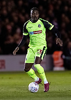 Bolton Wanderers' Joe Dodoo <br /> <br /> <br /> Photographer Andrew Kearns/CameraSport<br /> <br /> The EFL Sky Bet League One - Lincoln City v Bolton Wanderers - Tuesday 14th January 2020  - LNER Stadium - Lincoln<br /> <br /> World Copyright © 2020 CameraSport. All rights reserved. 43 Linden Ave. Countesthorpe. Leicester. England. LE8 5PG - Tel: +44 (0) 116 277 4147 - admin@camerasport.com - www.camerasport.com
