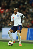 27th March 2018, Wembley Stadium, London, England; International Football Friendly, England versus Italy; Ashley Young of England