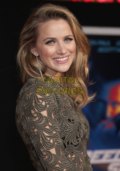 6 March 2014 - Hollywood, California - Shantel VanSanten. &quot;Need For Speed&quot; Los Angeles Premiere held at the TCL Chinese Theatre.  <br /> CAP/ADM/RE<br /> &copy;Russ Elliot/AdMedia/Capital Pictures