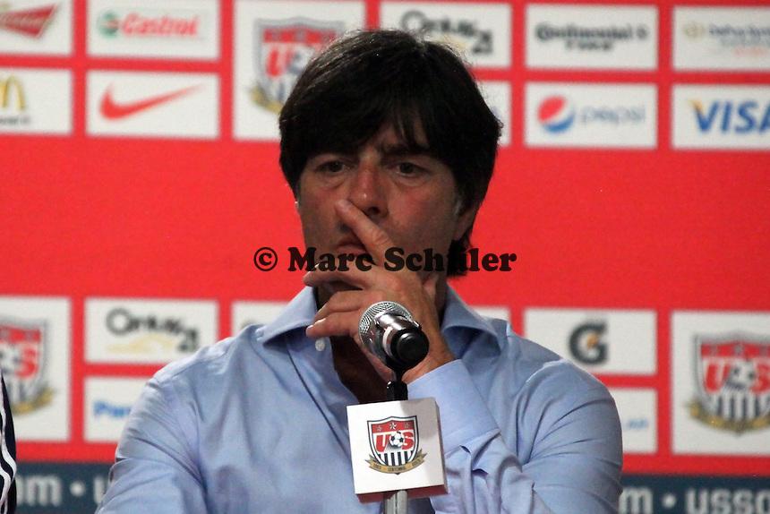 Bundestrainer Joachim Loew (D) - Pressekonferenz Jogi Löw in Washington, RFK Stadium