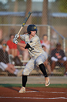 Ryan Wilson (34) during the WWBA World Championship at the Roger Dean Complex on October 13, 2019 in Jupiter, Florida.  Ryan Wilson attends C E Jordan High School in Durham, NC and is committed to Davidson.  (Mike Janes/Four Seam Images)