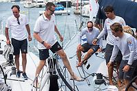 King of Spain Felipe VI compites on board of Aifos