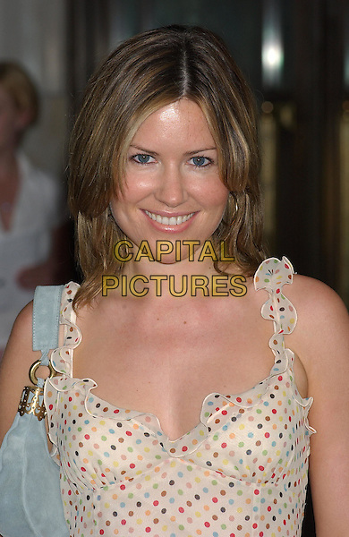 DIDO .Nordoff-Robbins Silver Clef Awards. Hotel Inter-Continental, London.27th June 2003.headshot, portrait, ruffles, polka dots, spots.www.capitalpictures.com.sales@capitalpictures.com.Supplied By Capital PIctures