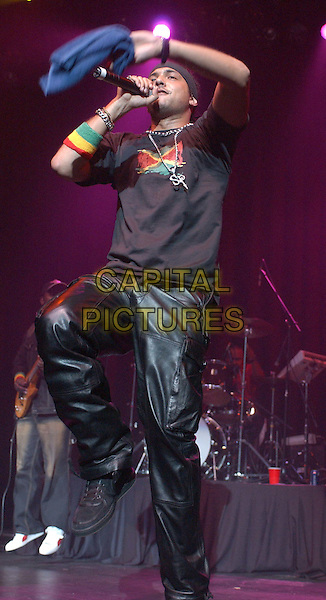 SEAN PAUL.performs at The Grove of Anaheim in Anaheim, California .06 December 2003.music, concert, gig, live, singing.www.capitalpictures.com.sales@capitalpictures.com.©Capital Pictures.