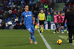 Getafe CF's Nemanja Maksimovic during La Liga match between Getafe CF and Valencia CF at Coliseum Alfonso Perez in Getafe, Spain. November 10, 2018.