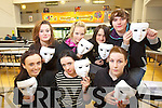 Jamie O'Carroll, Siun Mangan, Rebecca Savage, Sarah Counihan, Lynn Cosgrove David Farrelly and David Barrett 4th Year Y.S.I. who were part of a drama 'making people feel better about themselves'.