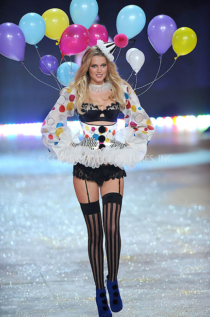 WWW.ACEPIXS.COM . . . . . .November 7, 2012...New York City....Toni Garrn walks the runway during the 2012 Victoria's Secret Fashion Show at the Lexington Avenue Armory on November 7, 2012 in New York City ....Please byline: KRISTIN CALLAHAN - ACEPIXS.COM.. . . . . . ..Ace Pictures, Inc: ..tel: (212) 243 8787 or (646) 769 0430..e-mail: info@acepixs.com..web: http://www.acepixs.com .
