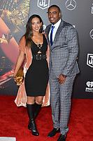 Paul Pierce &amp; Julie Pierce at the world premiere for &quot;Justice League&quot; at The Dolby Theatre, Hollywood. Los Angeles, USA 13 November  2017<br /> Picture: Paul Smith/Featureflash/SilverHub 0208 004 5359 sales@silverhubmedia.com