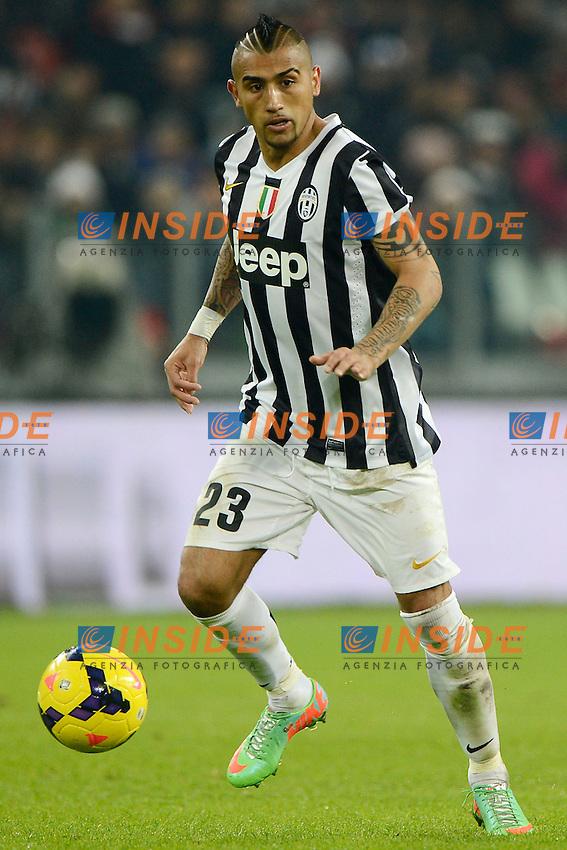 Arturo Vidal Juventus<br /> Torino 02-02-2014 Juventus Stadium - Football 2013/2014 Serie A. Juventus - Inter Foto Giuseppe Celeste / Insidefoto