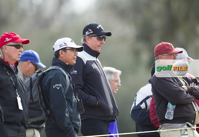 A famous face in the crowd, Golf Guru David Leadbetter during the Second Day of the Third round of the LPGA Coates Golf Championship 2016 , from the Golden Ocala Golf and Equestrian Club, Ocala, Florida. 6/2/16<br /> Picture: Mark Davison | Golffile<br /> <br /> <br /> All photos usage must carry mandatory copyright credit (&copy; Golffile | Mark Davison)