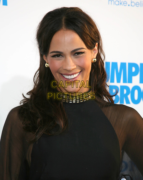 PAULA PATTON .at The Screen Gems L.A. Premiere of Jumping the Broom held at The Cinerama Dome Theatre in Hollywood, California, USA, May 4th 2011..portrait headshot sheer  gold high neck see thru through .CAP/RKE/DVS.©DVS/RockinExposures/Capital Pictures.
