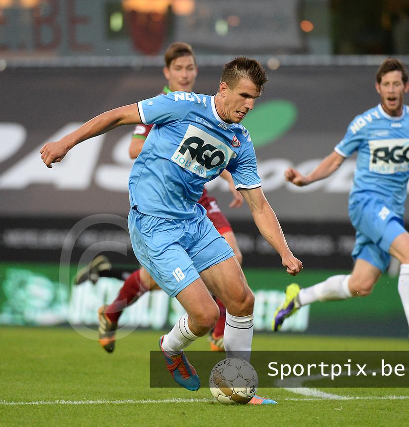 KV Kortrijk  : Ivan Santini<br /> foto VDB / BART VANDENBROUCKE