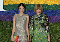 NEW YORK, NEW YORK - JUNE 09: Anna Wintour, Bee Shaffer Carrozzini attend the 73rd Annual Tony Awards at Radio City Music Hall on June 09, 2019 in New York City. <br /> CAP/MPI/IS/JS<br /> ©JSIS/MPI/Capital Pictures