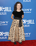 Elodie Tougne  at The Columbia Pictures' World Premiere of JACK AND JILL at Mann Village Theatre in West Hollywood, California on November 06,2011                                                                               © 2011 Hollywood Press Agency