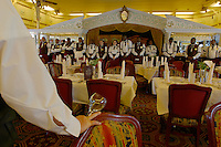 Staff meeting at the Dining Room of the Mississippi Queen.