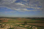 Israel, Shephelah, a view North from Hurvat Rimon, site of an ancient Jewish village
